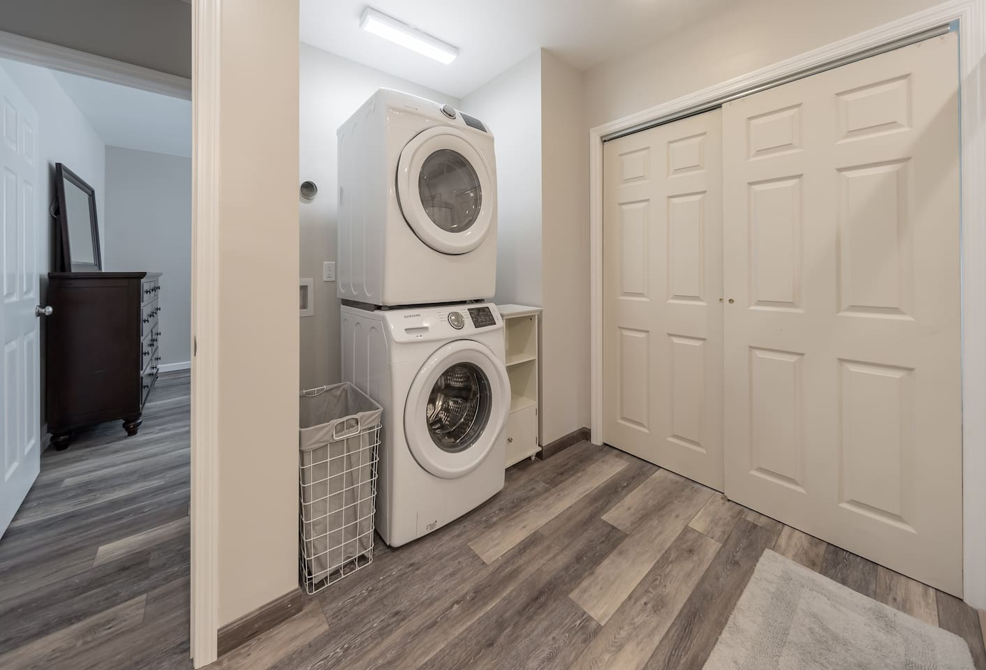 Lower Laundry Area
