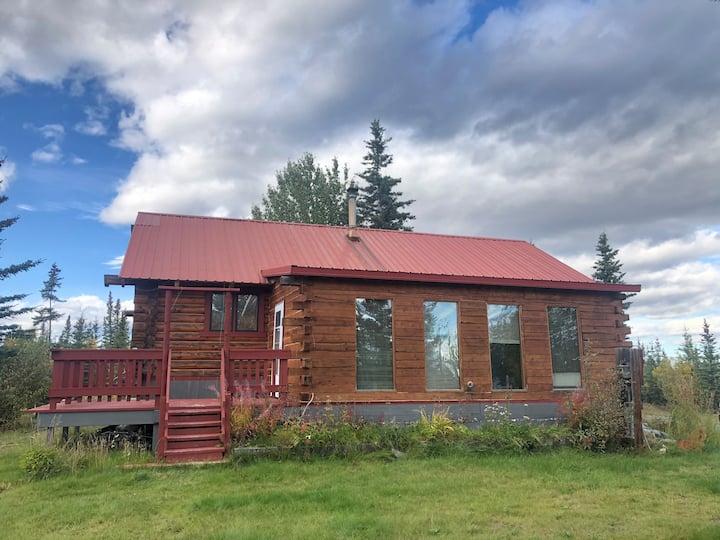 Cozy Alaskan Cabin in the Woods