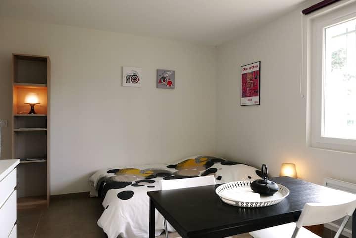 Studio privé tout confort à Nîmes proche Garrigue