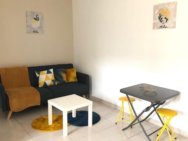 Appartement standing à Macouria en résidence.