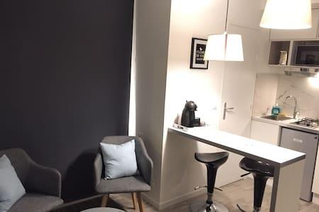 Petit studio rénové avec vrai lit N°4 - Nantes - Huoneisto