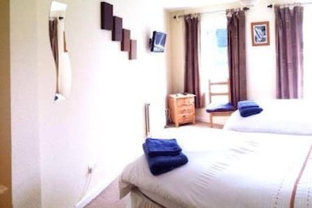 Channel View - ROOM 1 (Ground Floor Twin/Double) - Stoke Fleming - Bed & Breakfast
