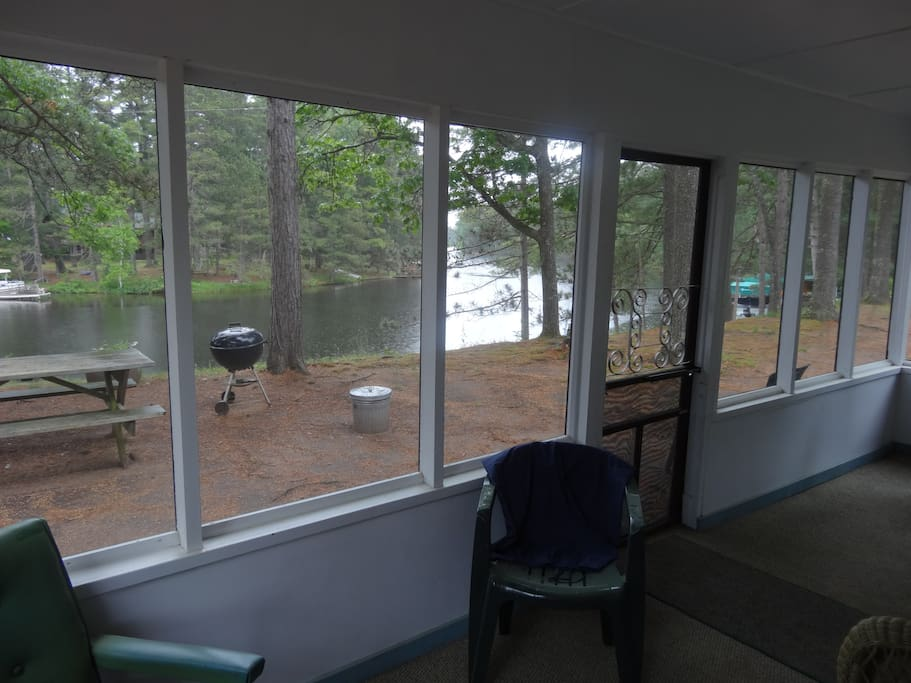 View of River from Screen Porch