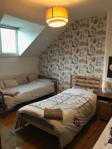 Twin Room in City Centre - Nottingham - House