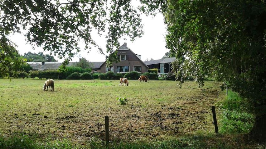 Vakantieboerderij Hazeleger - Otterlo - บ้าน