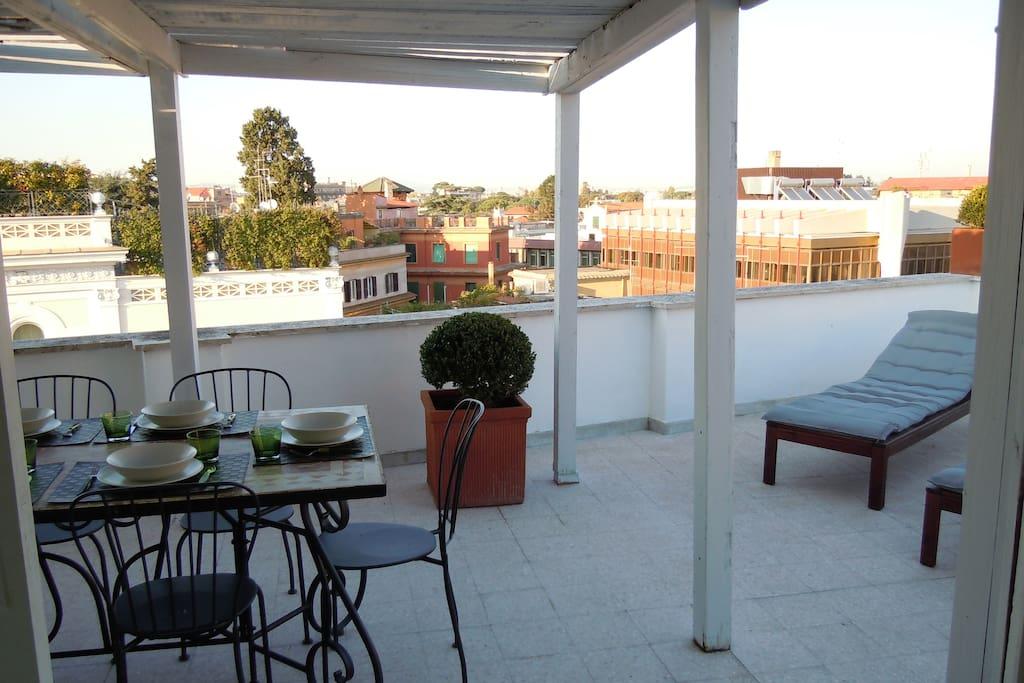 Home on terrace appartamenti in affitto a roma lazio for Piano casa lazio proroga 2018