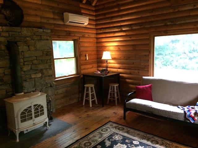 Secluded Mini Farm Log Home in Black Mountain