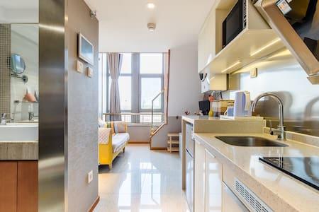 近地铁站旁恒大未来城loft北欧风格复式一室一厅 可直达西单、北京南、颐和园、北京大学