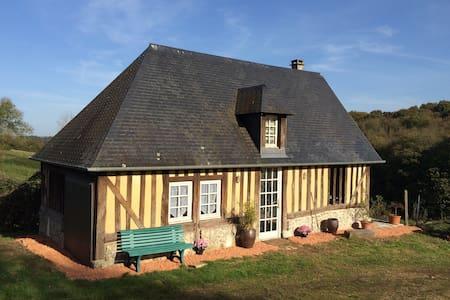 """Le Cottage """"Goodtime"""" - Pays d'Auge - Hermival les vaux"""