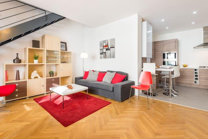 Grand appartement neuf Part Dieu - Lyon - Apartemen