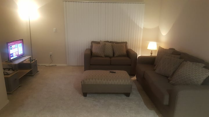 Clean and peaceful 1 bedroom Apt rent for 2 months