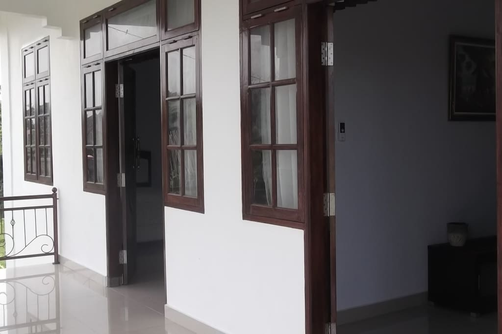 Entrance of the second floor of your room