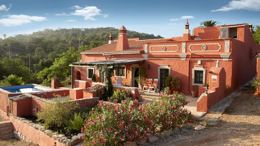 RESTORED FARMHOUSE WITH OCEAN VIEWS AL (PHONE NUMBER HIDDEN) - Estoi