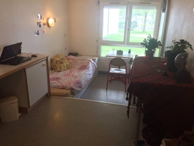 Apparemment étudiant vue sur le lac - La Rochelle - Apartamento