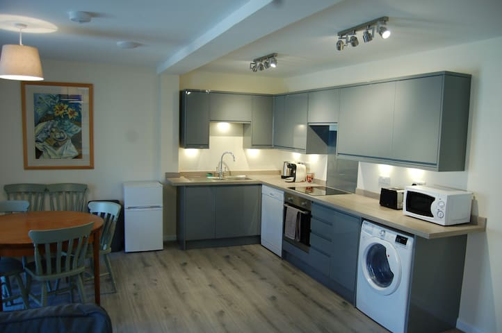 Large new flat in Grade II listed building.