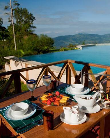 Rio Magnolia Room 1 Rainforest Lodge - San José Province - Allotjament sostenible a la natura