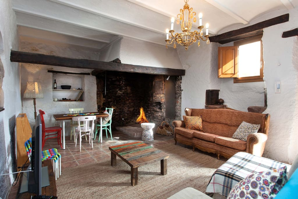 Casa rural con encanto montseny casas en alquiler en for Casa rural montseny