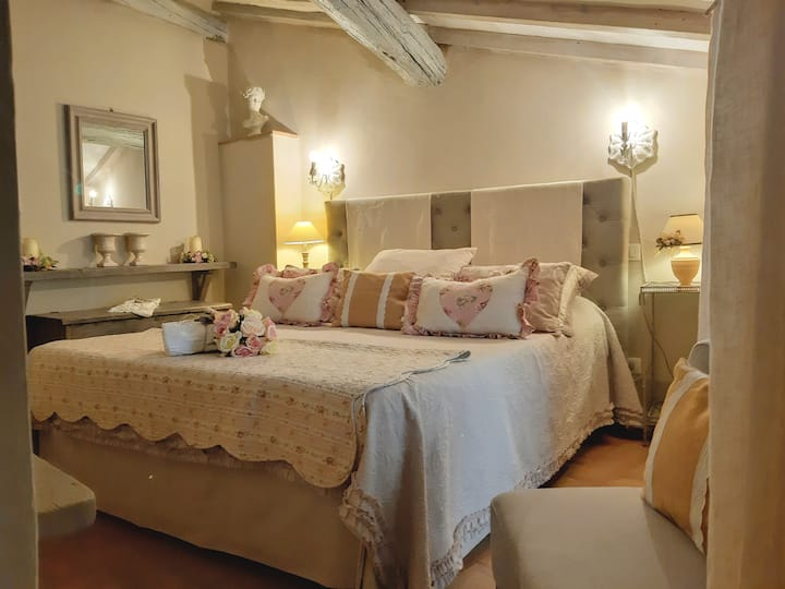 Cortona Shabby Chic House (Independent & balcony)