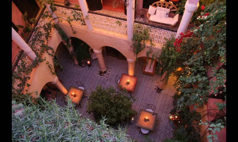 Traditional Riad - Marrakech Medina wifi / 傳統利亞德
