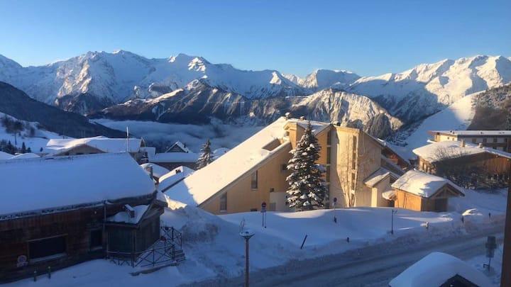 Studio Plein Sud Alpe d'Huez
