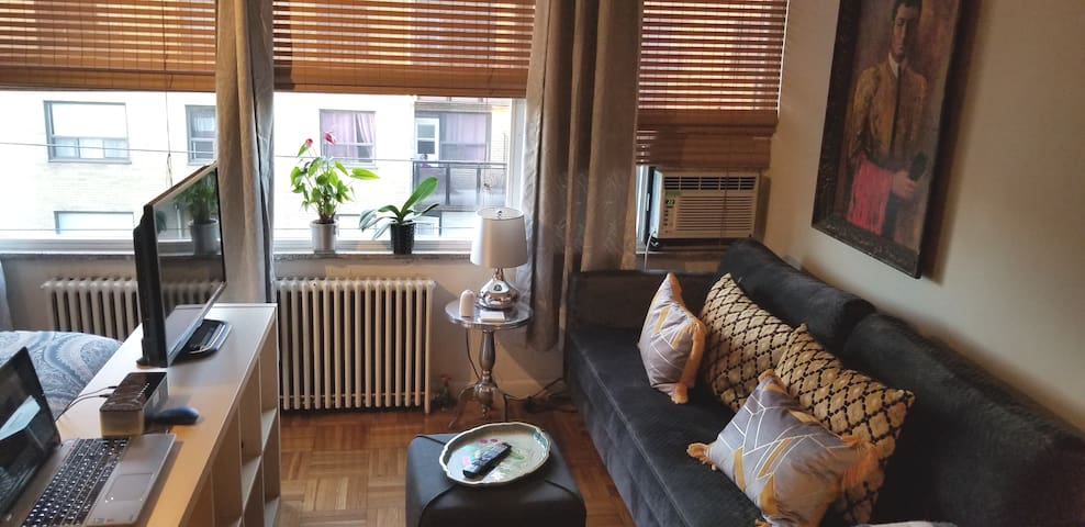 Cozy Bachelor close to Downtown!!