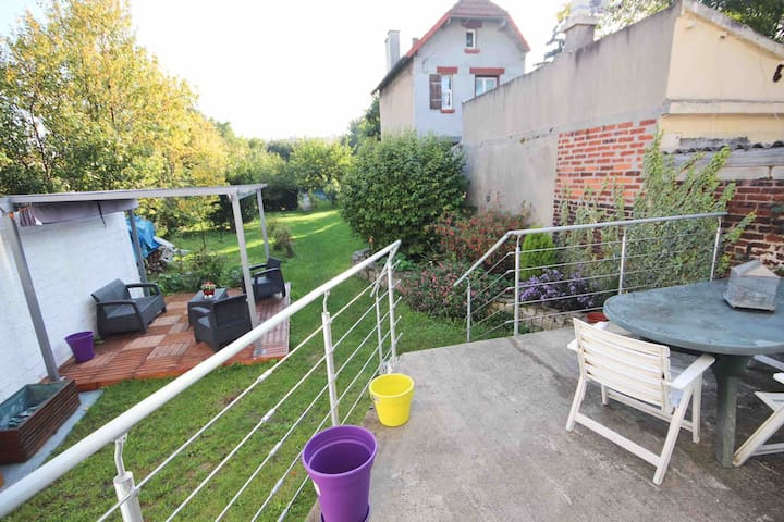 Complete house with giant garden near Paris - Vitry-sur-Seine - Dom
