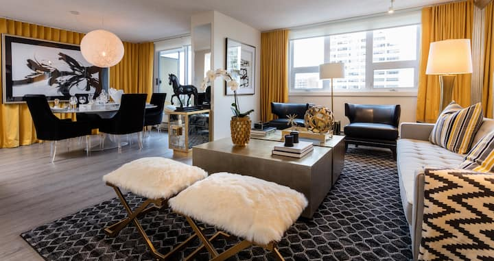 High-End Stay in Core Downtown