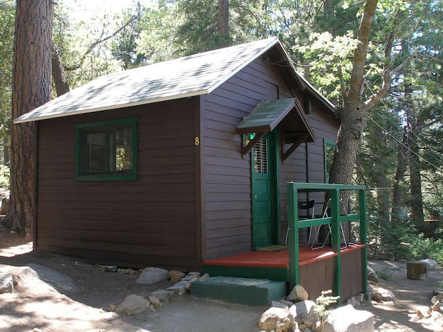 Cabin #8  For Two Guests - Angelus Oaks - Cabana