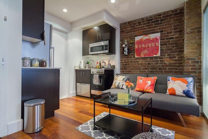 Designer Pad Best Location in NYC! - New York - Flat