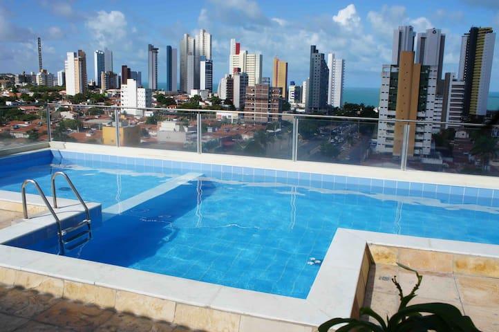 Beautiful flat sem custos adicionais Ponta Negra