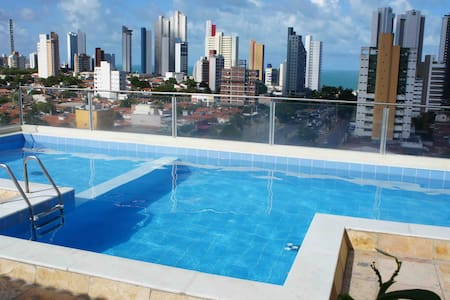 Beautiful flat sem custos adicionais Ponta Negra