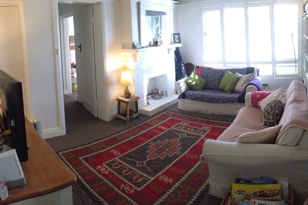 Cosy sitting room with Fetch TV