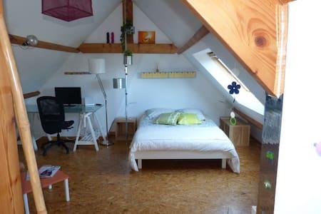 Studio dans maison Nantes/orvault - Maison