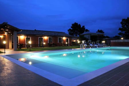 COUNTRY APARTMENT+POOL+HORSE SCHOOL - San Liberato di Narni