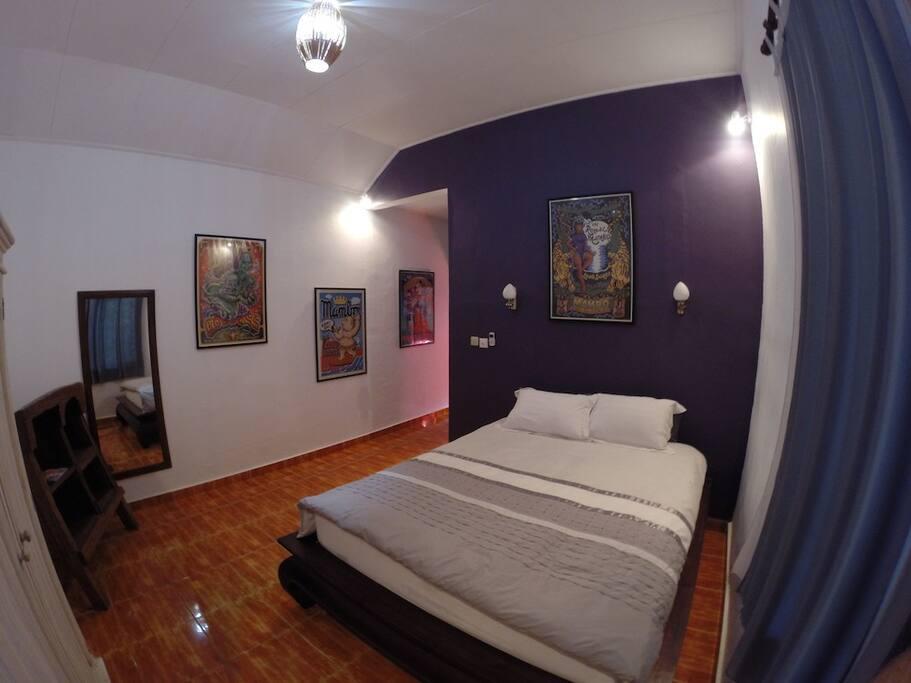 Main bedroom (A/C)
