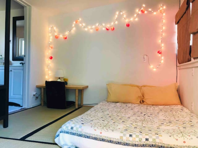 Quiet garden Inn #6 - 3mins walk downtown  (讲中文)