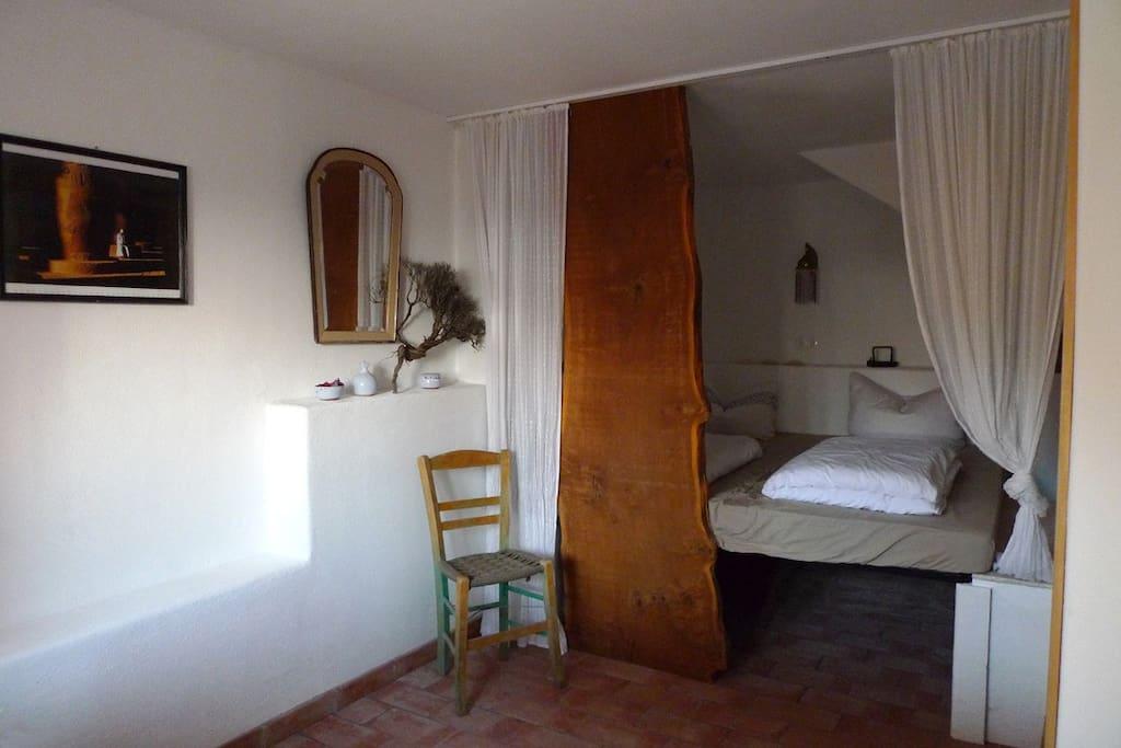 unteres Schlafzimmer für zwei