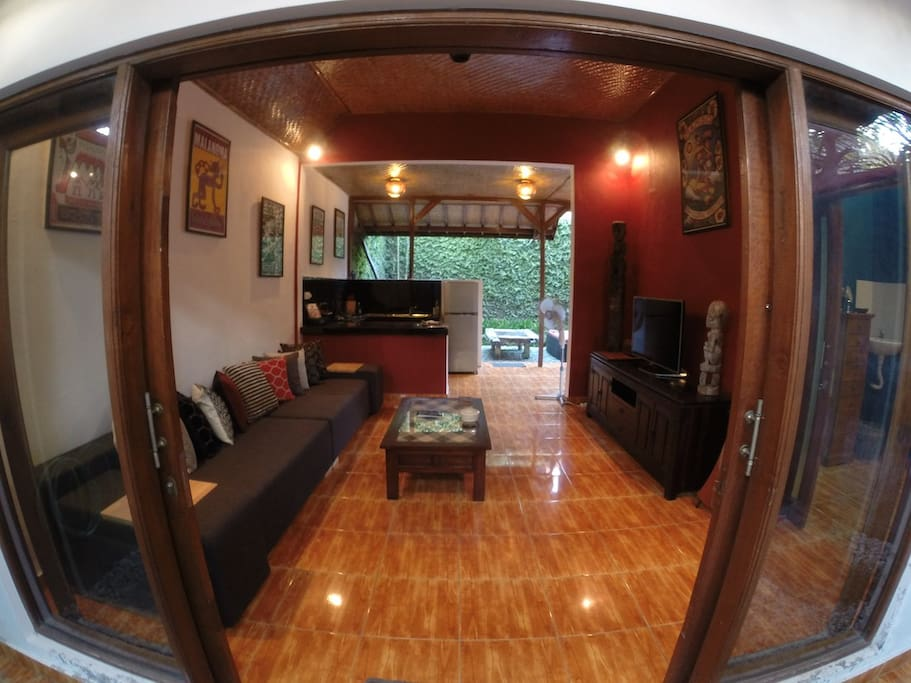 Lounge room from entrance