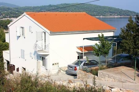 One bedroom apartment with terrace and sea view Nečujam, Šolta (A-5181-c) - Nečujam - Daire