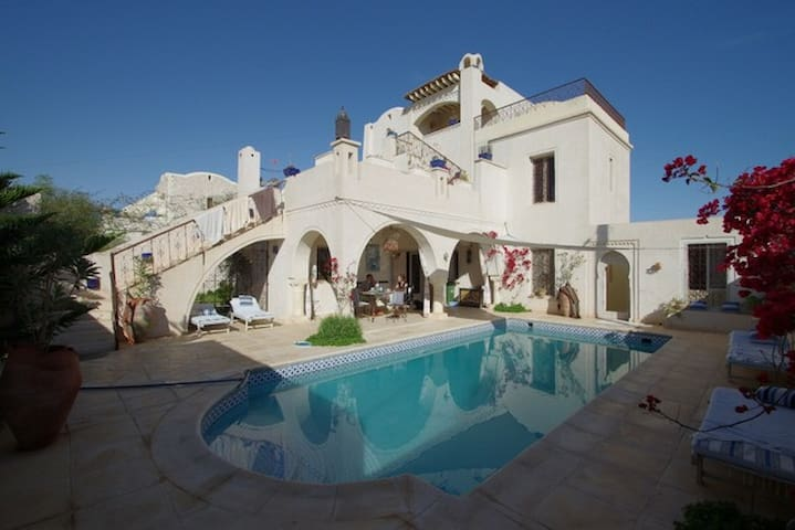 Dar Hamza Djerba B&B Appart.T4-80m2 - Djerba  - Bed & Breakfast