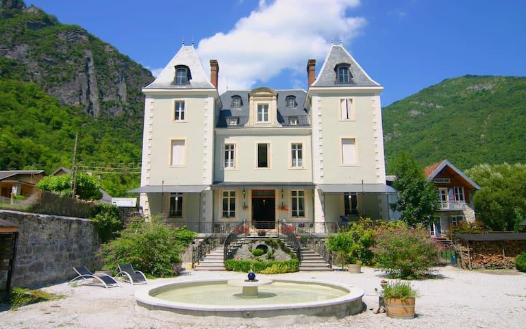 Room 2 pers. Château Serre Barbier  - Saint-Béat - Castle