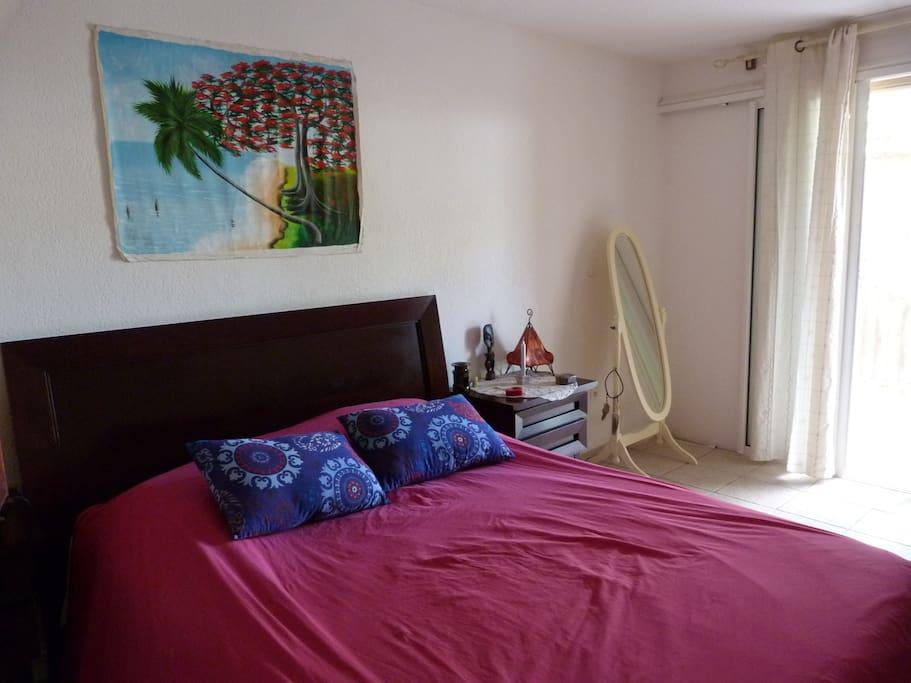 chambre douillette maisons louer cul de sac saint martin saint martin partie fran aise. Black Bedroom Furniture Sets. Home Design Ideas