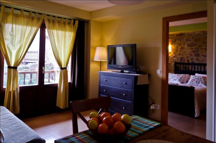 Salón dormitorio desde el comedor