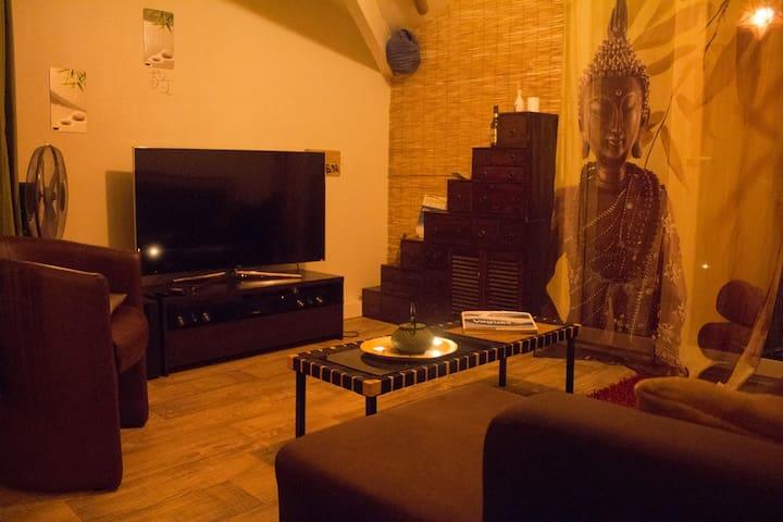 T2 de 35 m² en duplex proche de Contis beach - Saint-Julien-en-Born - Apartemen