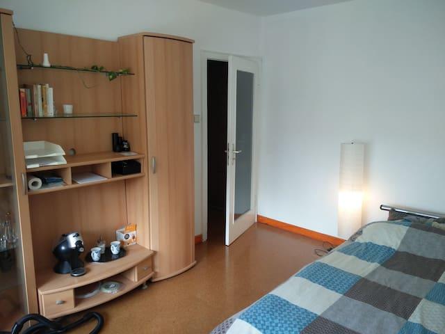 Helle und ruhige Studio mit Balkon - Bonn - Daire