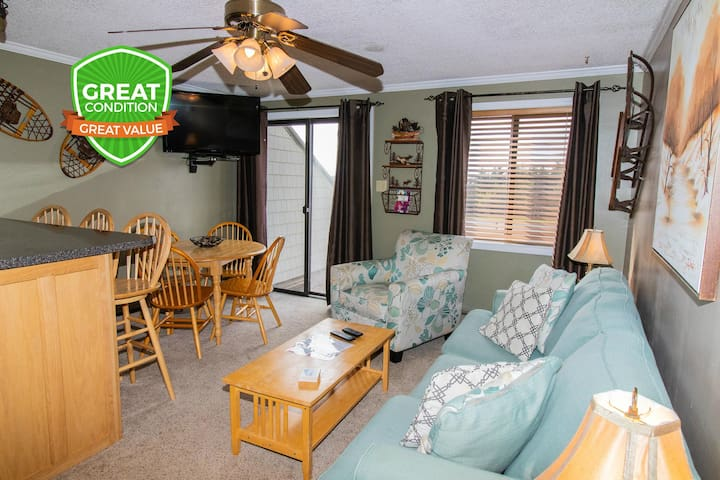 NO BAIT & SWITCH PRICING   Includes Parking/Cleaning   2BR/2BA   Sleep 6   ML307