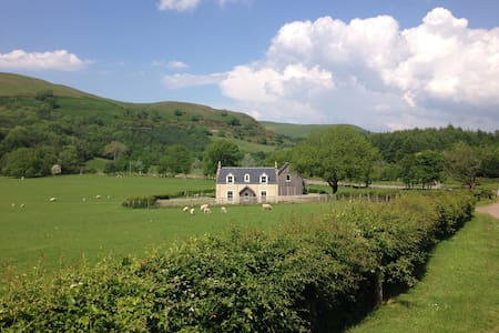 Beautifully restored mill house on the Stinchar
