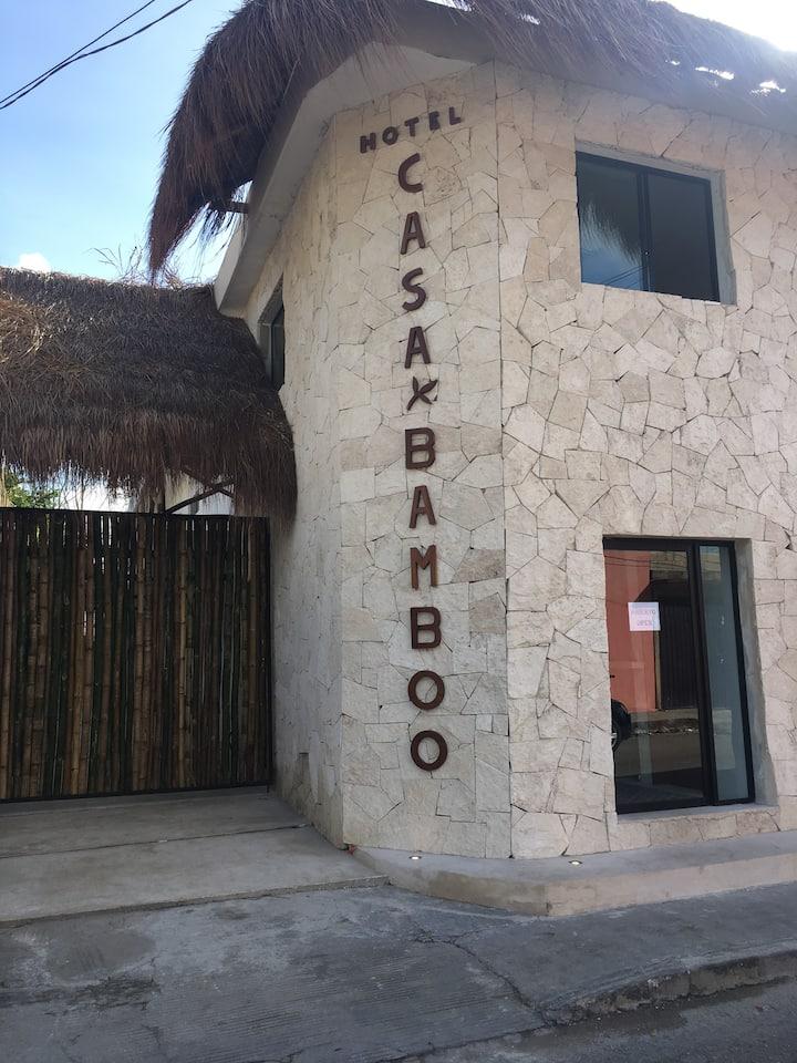 Hotel casa Bamboo. Habitación doble 1