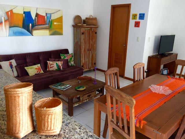 Apartamento charmoso e confortável na Barra