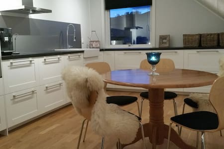 Large and modern apartment near Bergen - Fjell - Wohnung